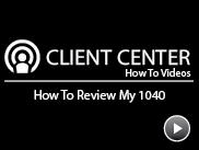 How to Review My 1040